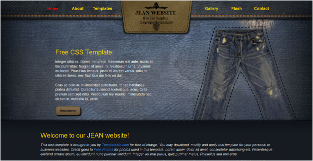 10 Awesome & Free HTML/CSS Templates - Thought Mechanics