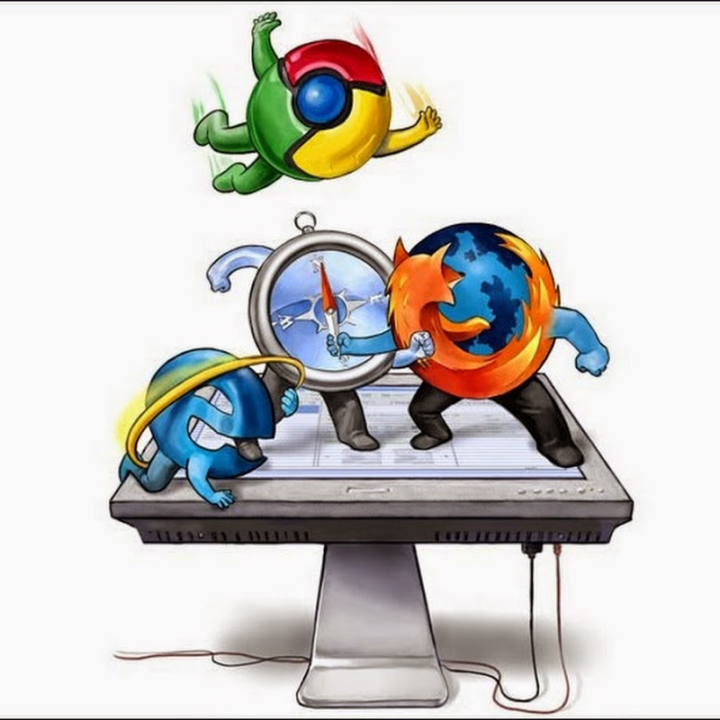 IE gaining market share while Google Chrome is 'in retreat' and FireFox just 'holding steady'?